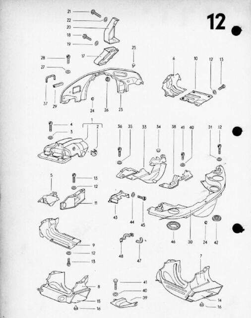 VW Beetle Parts Listings Manual 1949 - 1972 Classic VOLKSWAGEN Type 1