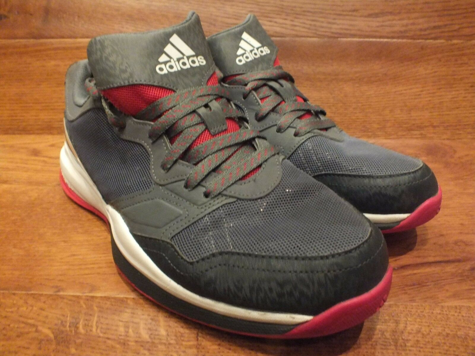 Adidas Crazytrain Grey  Running Shoes Trainers   The most popular shoes for men and women