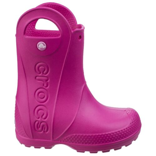 Crocs Handle It Wellingtons Childrens Waterproof Croslite Kids Boys Girls Boots