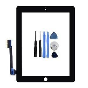 Apple-iPad-3-ecran-tactile-numeriseur-verre-A1403-Noir-set-d-039-outils-Colle