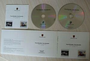 CD-ROM-PORSCHE-PRESSE-INFORMATION-MODELES-2008-2-DISQUES