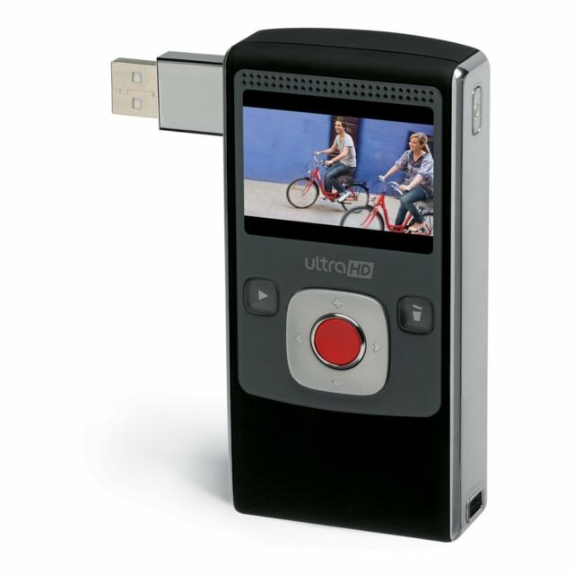 Flip UltraHD Video Camera U2120B - 8GB, Records 120 Minutes