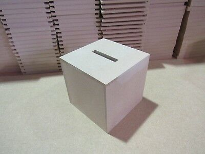 Large Money Box MDF Quality with Stopper