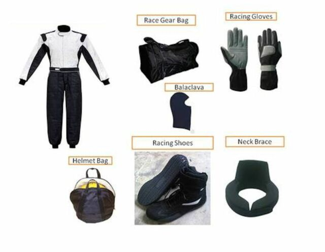 Kart Race suit all you can have (free balaclava and gloves)