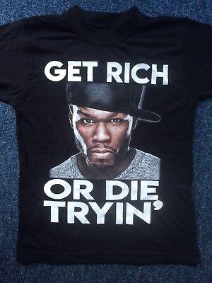 50 Cent Uk Tour Shirt 2018 Size Extra Small