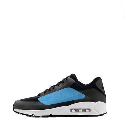 Nike Air Max 90 NS GPX Grande Logo Uomo Casual Palestra Scarpe BlackBlu   eBay