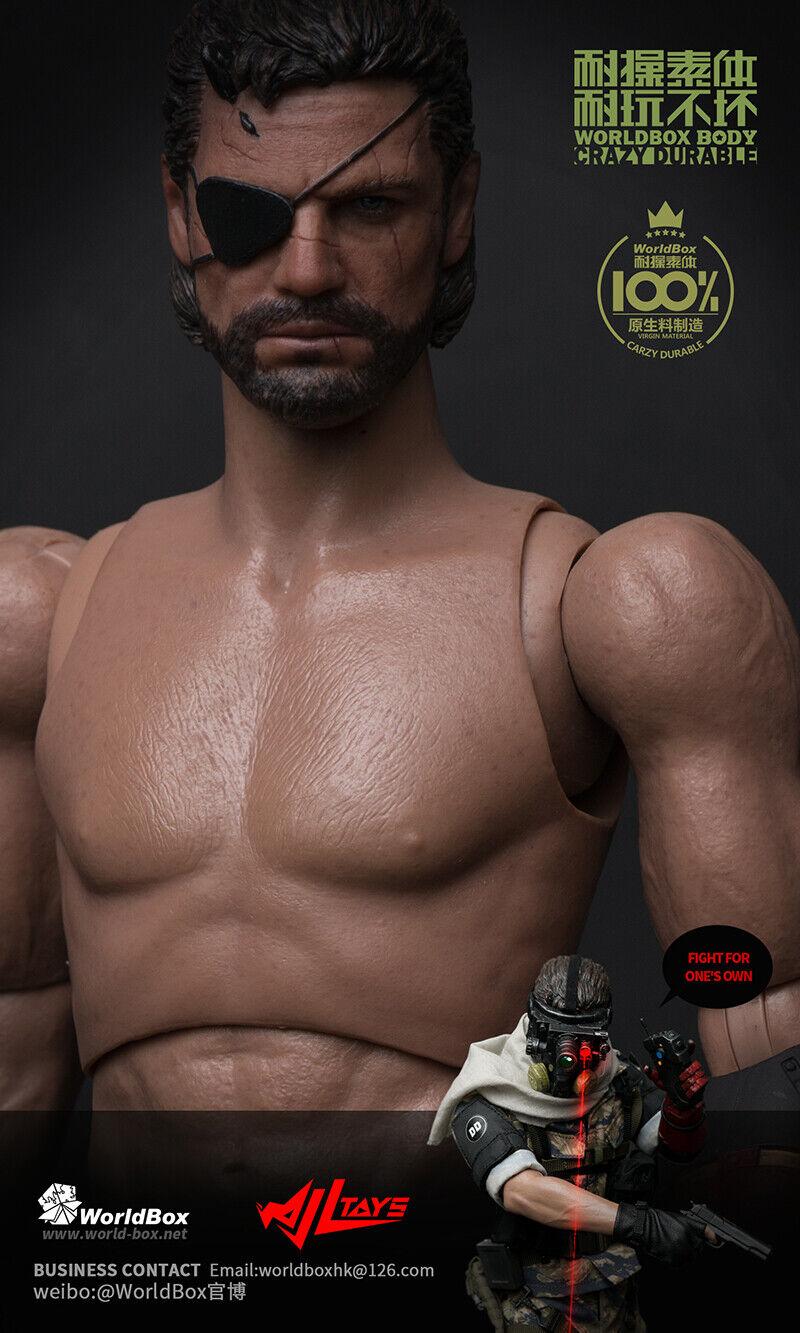 1 6 World Box Intelligent Prosthesis Male Body AT024