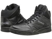 Men Reebok Royal Bb4500 Hi Top Sneakers M42655 Black Shark 100% Original B.