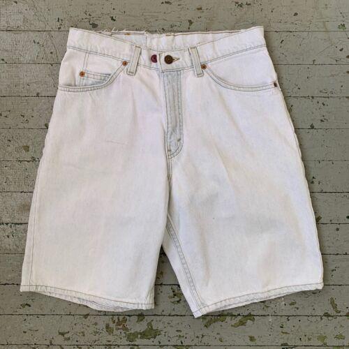 Mens Vintage 90's Levis Light Wash 560 Shorts Men… - image 1
