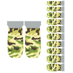 Winstonia-Camouflage-Nail-Wraps-Decal-Military-Camo-Manicure-Sticker-Strip-USA