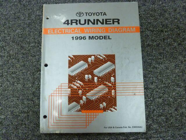 1996 Toyota 4runner Suv Electrical Wiring Diagram Manual