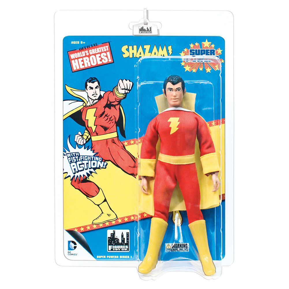 Super Powers Powers Powers Retro Style Action Figures Series 1  Shazam by FTC 38a0f4