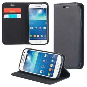 Samsung-Galaxy-S4-mini-I9190-I9195-I9192-Duos-Phone-Case-Flip-Cover-Wallet-Bumpe