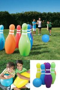 Inflatable Bowling Ball Children Inflated Toys Kids Garden Play Games Balls