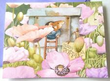 Vintage Marjolein Bastin Vera The Mouse Have A Magical Day Itty Bitty Card