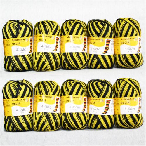 1kg ❗ top-oferta ❗ regia />/> estadio /</< 4 veces negro-amarillo 5391 Schachenmayr