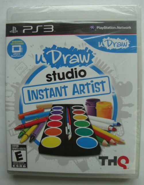 UDRAW STUDIO INSTANT ARTIST PS3 SONY PLAYSTATION 3 GAME NEW SEALED