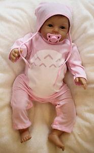 Handmade Baby Doll Lifelike Newborn Silicone Vinyl Reborn Dolls