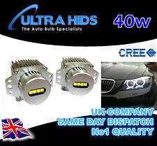 40W CREE XPG LED Angel Eyes Marker Kit BMW 3 Series E90 E91 LCI 08-11 halo rings