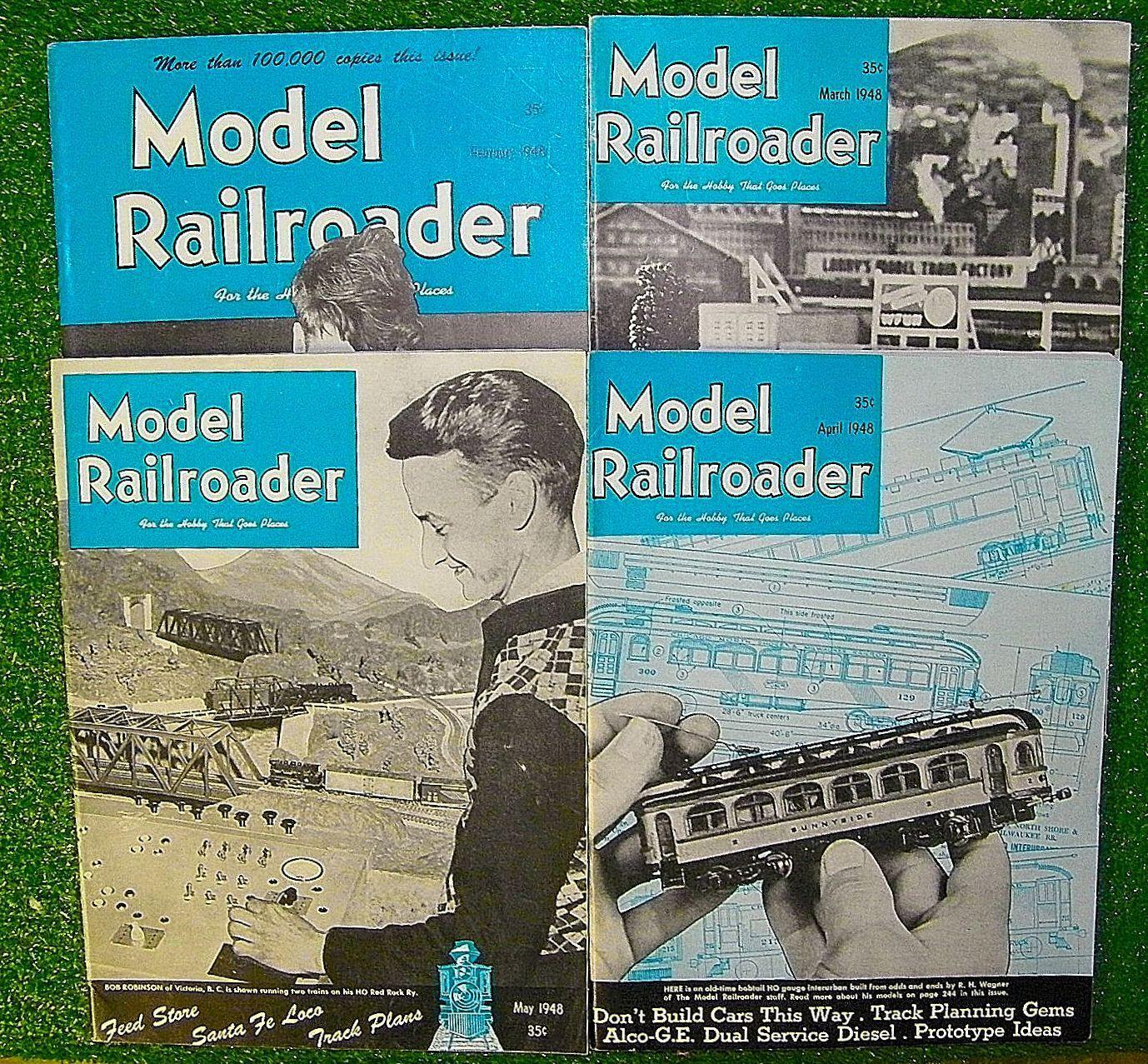 ビンテージ大ロット(91)モデル鉄道車両1948年から1955年まで