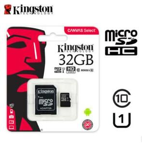 32GB-Kingston-SDXC-Micro-SD-Class10-SDHC-80MB-s-UHS-I-Memory-Card-with-Adapter