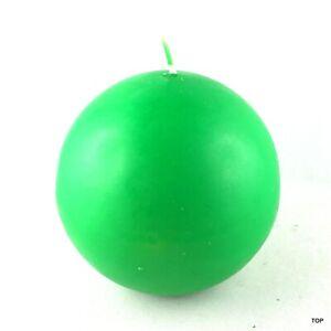 Kugelkerzen-Vert-Mat-Bougies-Noel-Decoration-Mariage-Paques-Bon-Marche