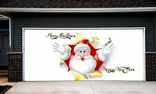 Christmas Garage Door Covers 3d Banners Outside House Decorations Outdoor GD31