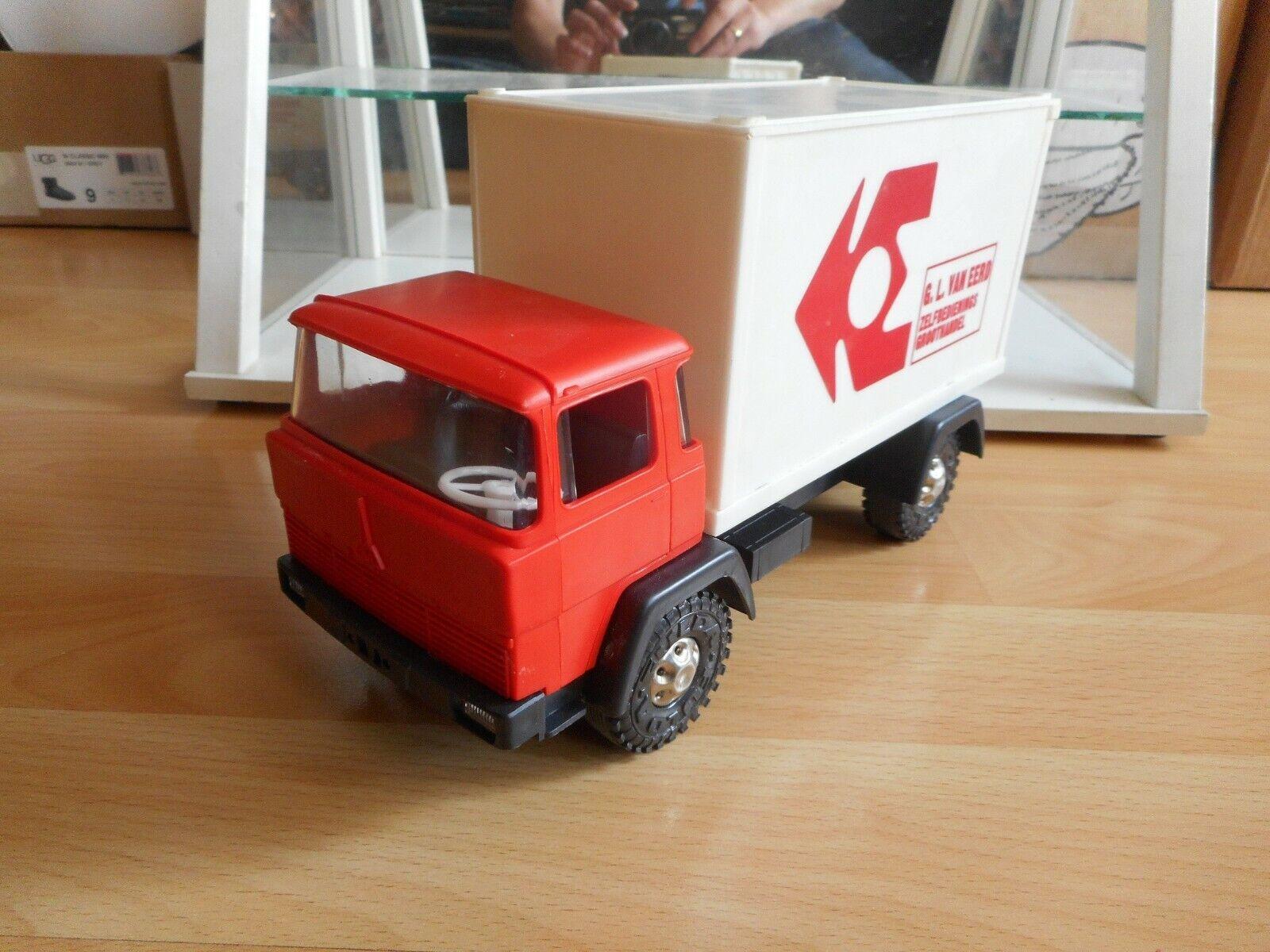 Hammer Toys Magirus Deutz  G L Van Eerd Groothandel  in rouge blanc