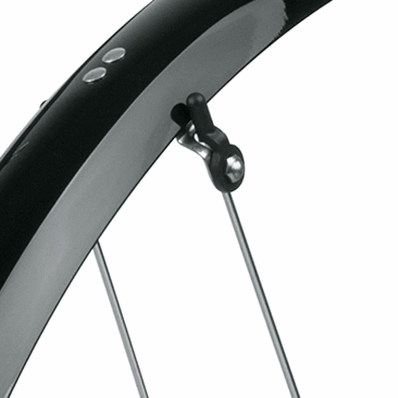SKS B53 Commuter 2-53mm Black Bike Fender Set for Bicycle 2Pc Set