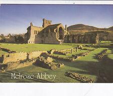 Melrose Abbey Scotland Postcard Unused VGC