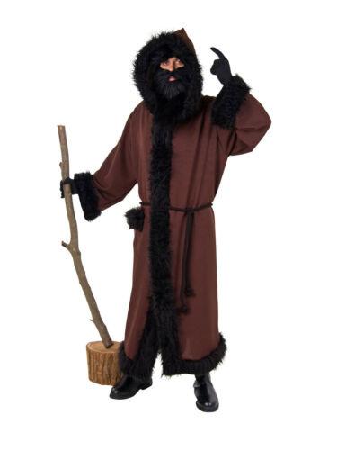 Manteau ruprecht marron de coton costume