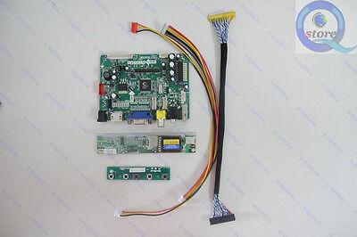 (HDMI+AV+VGA+USB)VST29 Controller Driver Board Monitor Kit Lvds 6-Lamp-Inverter