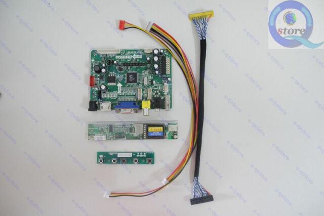 Kit For  LP150X08-TLA2  HDMI+DVI+VGA LCD Lvds Converter Board Controller