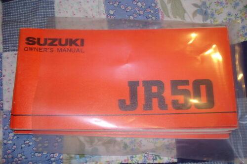 Suzuki JR50 Owner/'s Manual P//N 99011-04602
