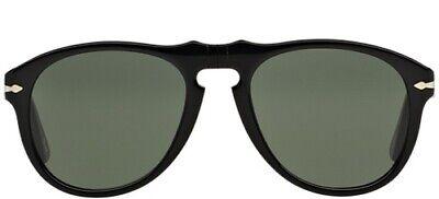 Abile Persol 649 52 95/31 Black Sunglasses Occhiali Nero Oculos Gafas Circolazione Del Sangue Tonificante E Arresto Del Dolore