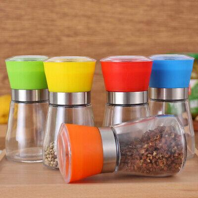 Stainless Steel Pepper Grinder Hand Twist Spice Salt Mill Manual Kitchen Tool