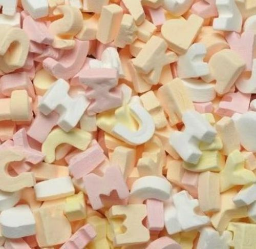 ABC Letters Candy Sweets 1kg Retro,Party Bag Sweet. Amazing Kingsway, Wholesale