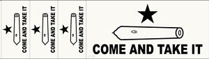 034-Come-and-Take-It-034-Bumper-Sticker-and-3-free-decals