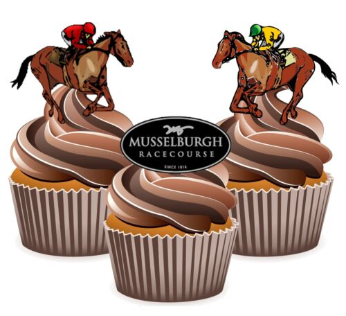 blanc Horse racing musselburgh racecourse 12 comestibles cup cakeEazytalkpatchcable8Pinkenwood