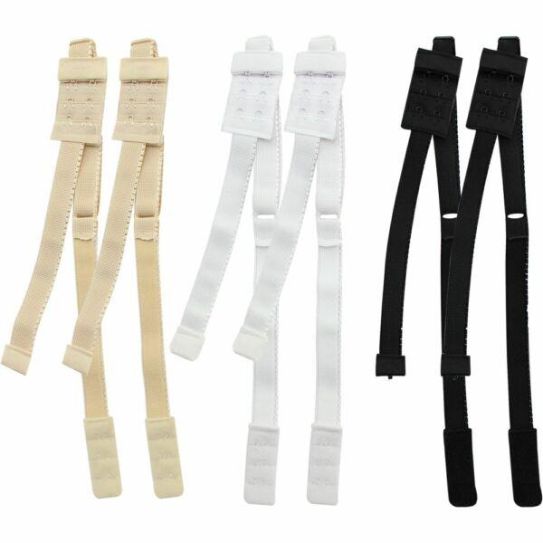 6x BH-Verlängerung für rückenfreie Kleider, Shirts, Blusen, Tops in drei Farben