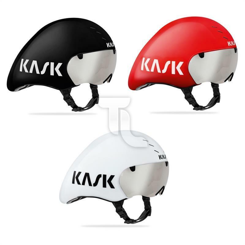 Kask Bambino Pro Evo Time Road Helmet with Visor 52-58cm NEW