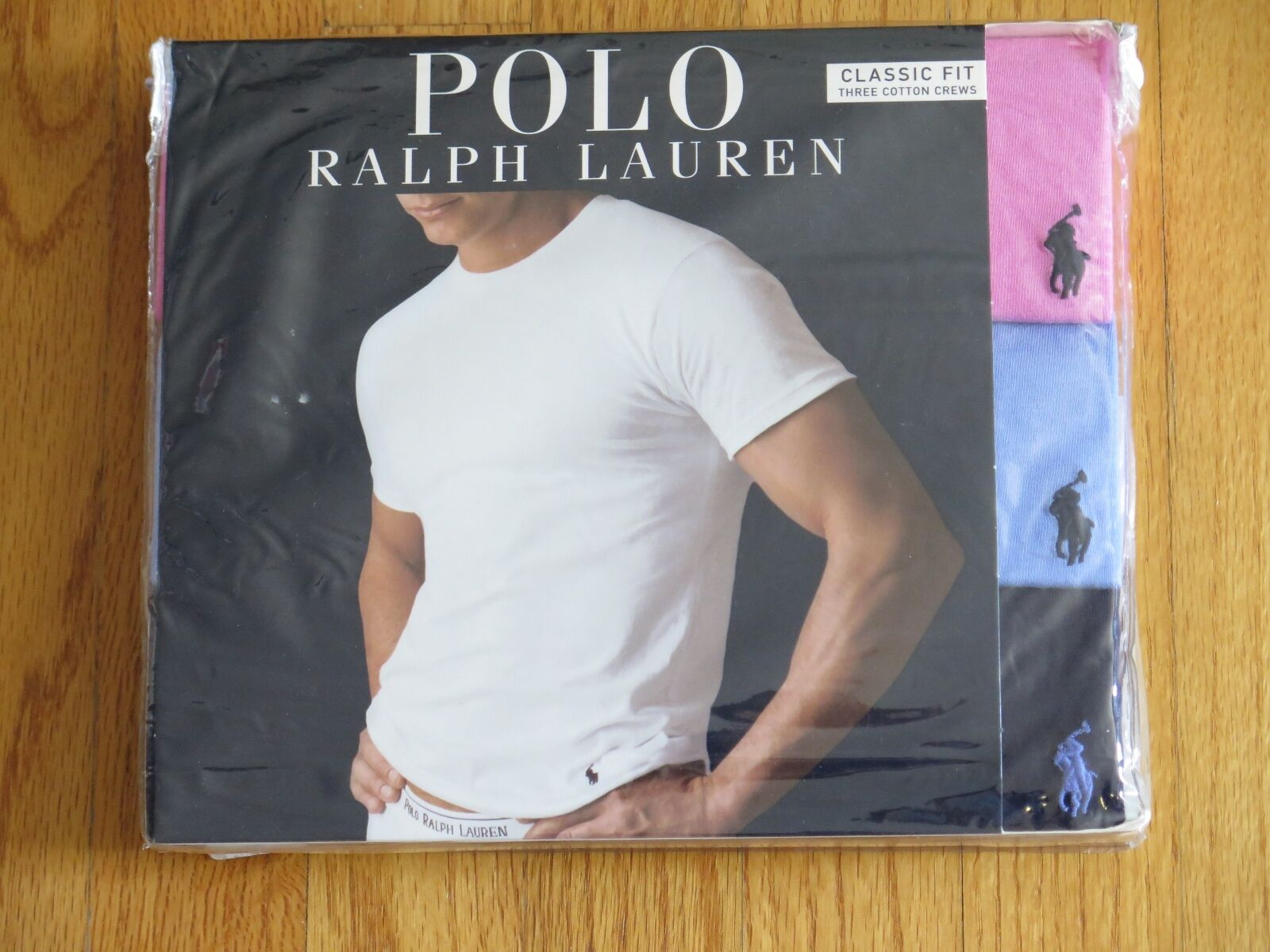 Polo Ralph Lauren Set of 3 Classic Fit Cotton Crew Assorted T-Shirts Size  Small