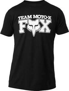 Fox Racing Castr Premium T-Shirt Short Sleeve Graphic Tee Men Motocross MX MTB