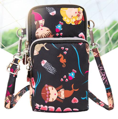 Cross-body Mobile Phone Bag Coin Purse Handbag Wallet Waterproof