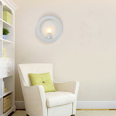 Moderne rund Wandleuchte Wandlampe Lampen für Flur Zimmer Bad Bar Deco Lampe NEU