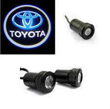 2pcs Car Door Led Welcome Laser Projector Logo Shadow Light Door Step For Toyota