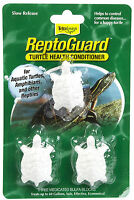 Tetra Turtle Reptoguard Reptomin 3 Pack Health Conditioner Free Ship In The Usa