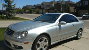 2005 Mercedes-Benz CLK AMG package