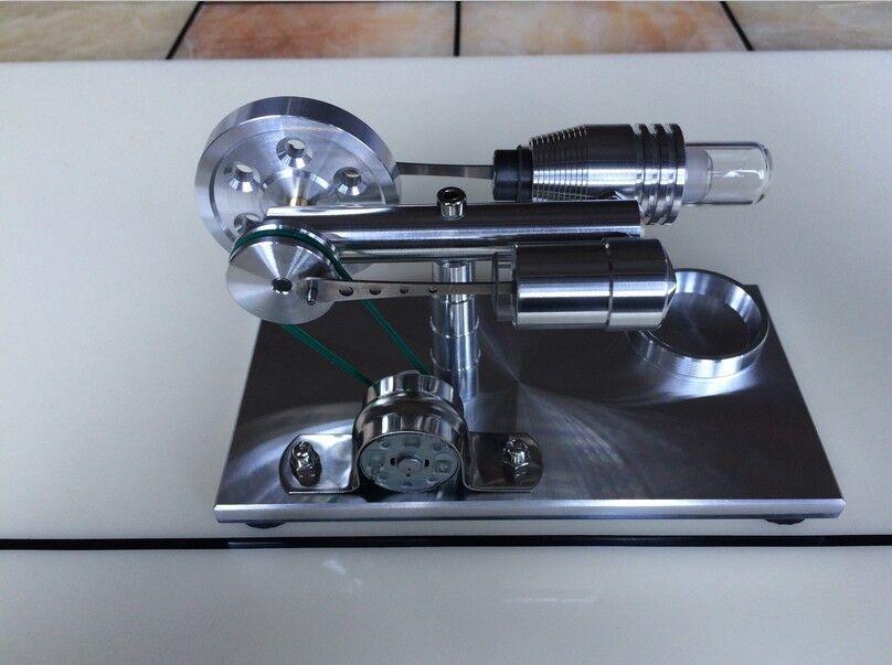 Generador De Vapor Motor Stirling En Miniatura Modelo Hobby científico Experime
