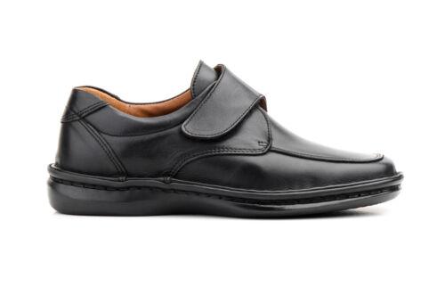 Zapatos de Piel con Plantilla Extraíble Suela Cosida Talla 39 40 41 42 43 44 45